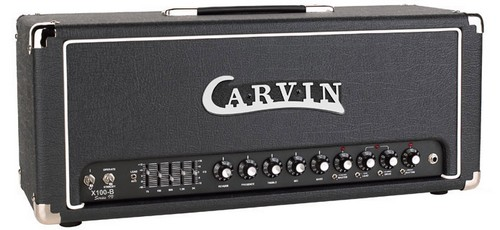Carvin X100b El34 Gold Pin Option