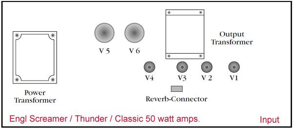 Engl Screamer Thunder & Classic 50 Standard Retube Kit