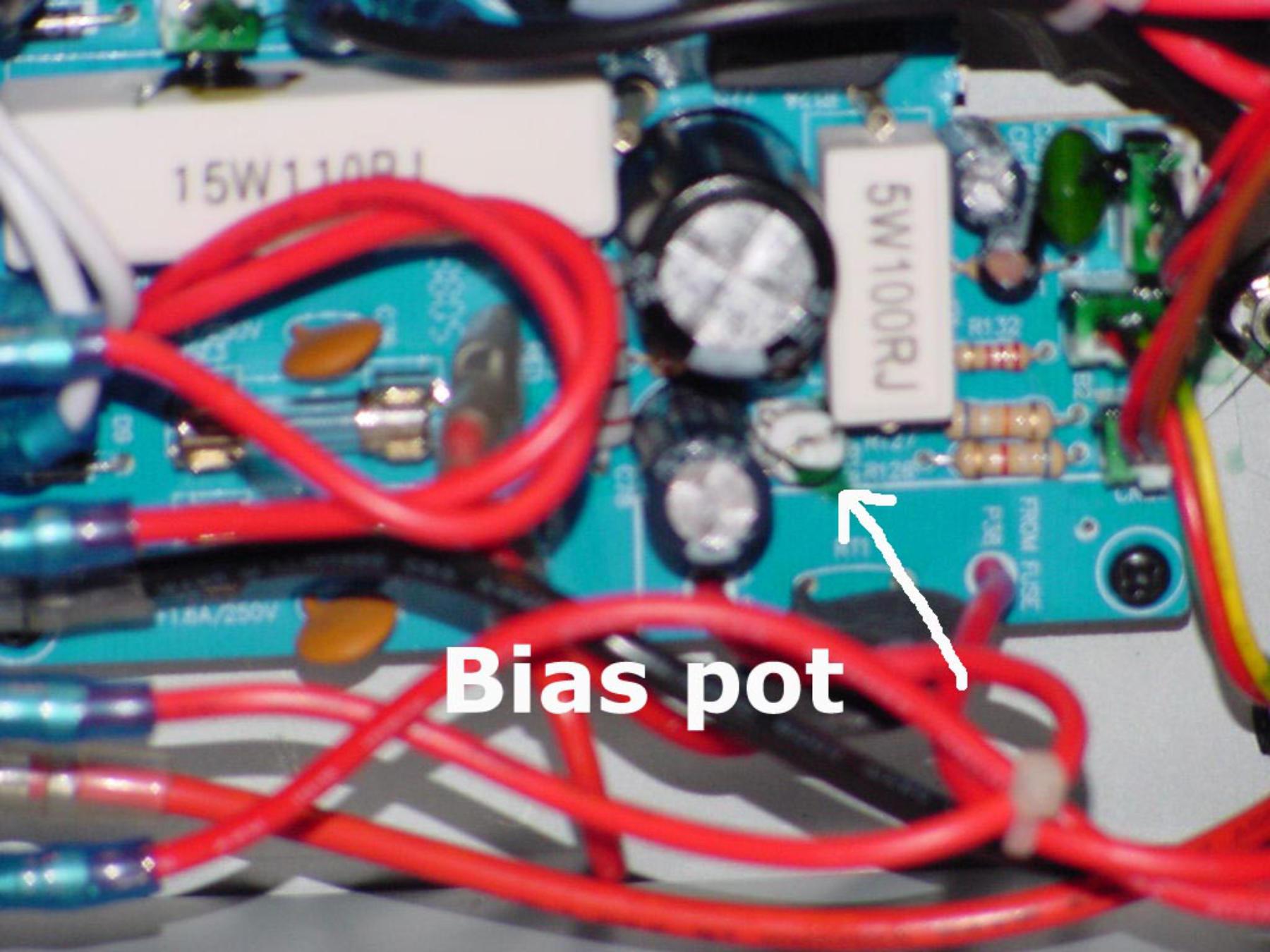 Bias Pot Wiring - Trusted Wiring Diagrams